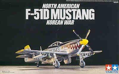 Tamiya 1/72 North American F-51D Mustang # 60754