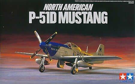 Tamiya 1/72 North American P-51D Mustang # 60749