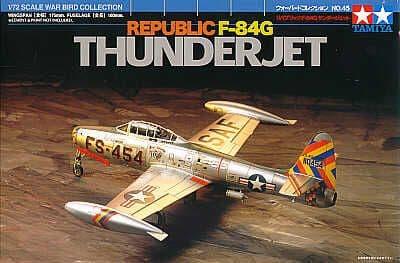 Tamiya 1/72 Republic F-84G Thunderjet # 60745