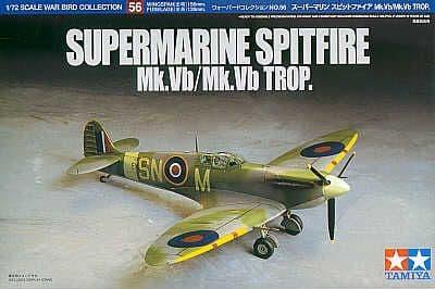 Tamiya 1/72 Supermarine Spitfire Mk.Vb/Mk.Vb Tropical # 60756