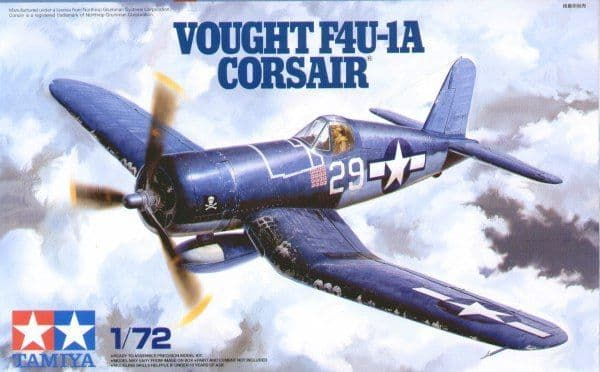 Tamiya 1/72 Vought F4U-1A Corsair # 60775
