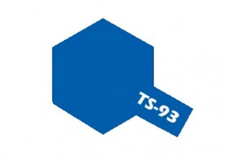 Tamiya 100ml Pure Blue Spray Paint # TS-93