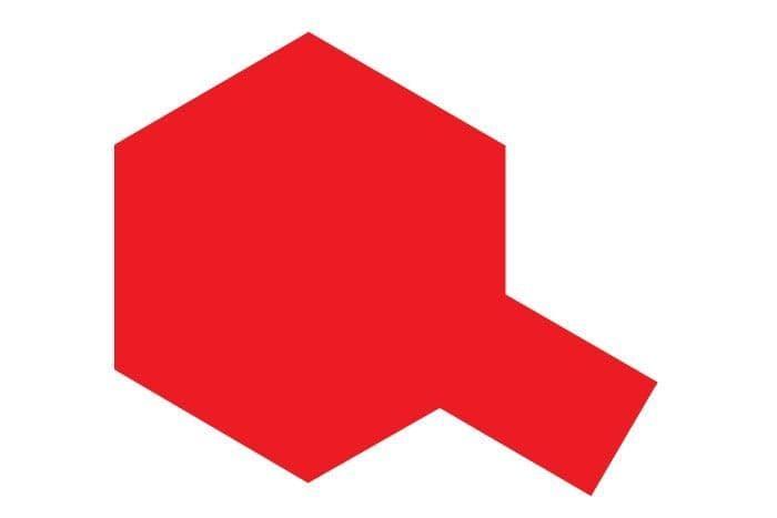 Tamiya 10ml Clear Red acrylic paint # X-27