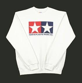 Tamiya - (L) Jumper Sweat Shirt (White) # 66858