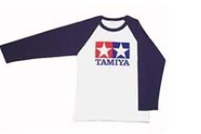 Tamiya - (L) T-Shirt with Long Sleeves (Blue) # 66739