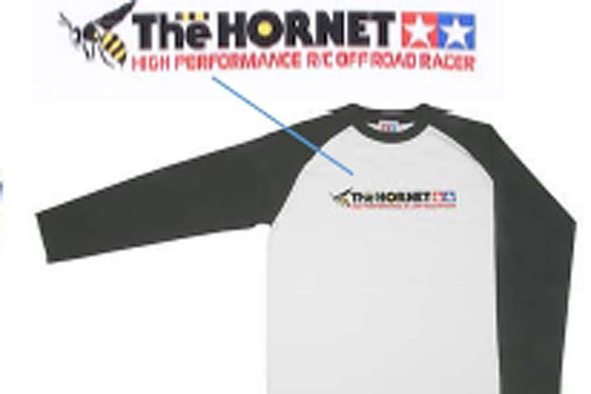 """Tamiya - (L) """"The Hornet"""" T-Shirt with Long Sleeves # 66833"""