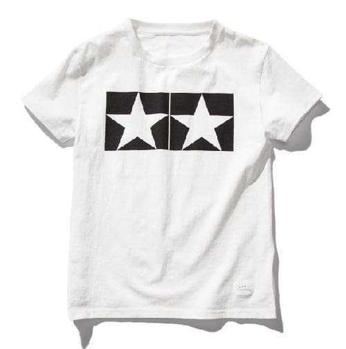 Tamiya - (L) Watanabe Tamiya T V2 T-Shirt with Short Sleeves (White) # 67061
