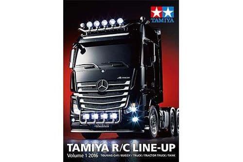 Tamiya - R/C Line Up  VOL 1 - 2016 # 64402
