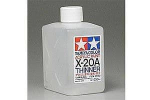 Tamiya X-20A Acrylic Thinners 250ml # 81040