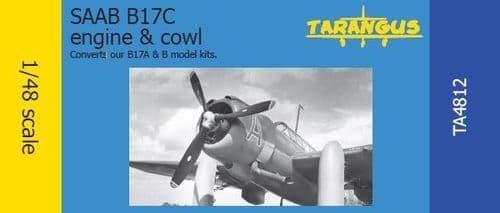 Tarangus 1/48 Saab B17C Engine & Cowl # TA4812