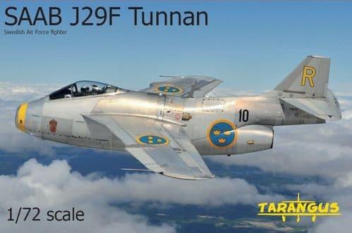 Tarangus 1/72 SaaB J29F Tunnan Swedish Air Force Fighter # 72006