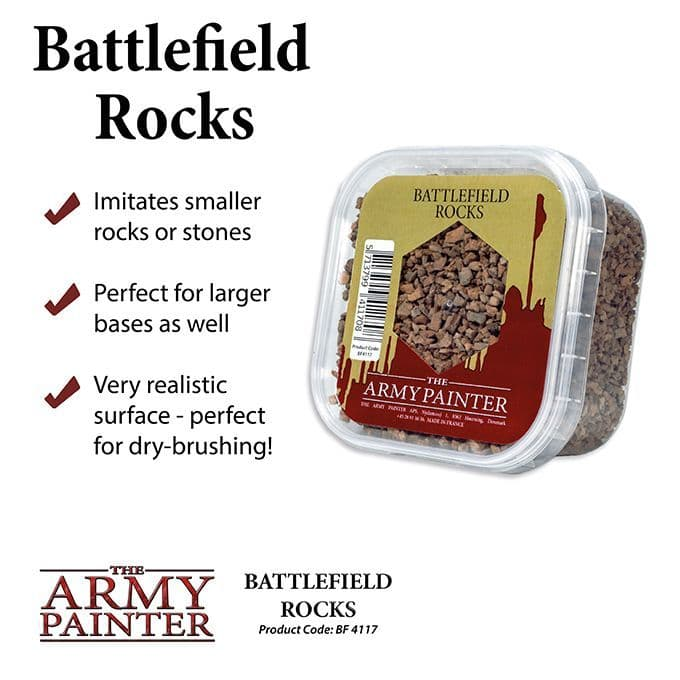The Army Painter - Battlefield Rocks # BF4117P