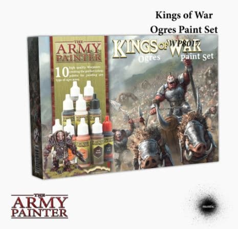 The Army Painter - Kings of War: Ogres Acrylic Paint Set # WP8017P