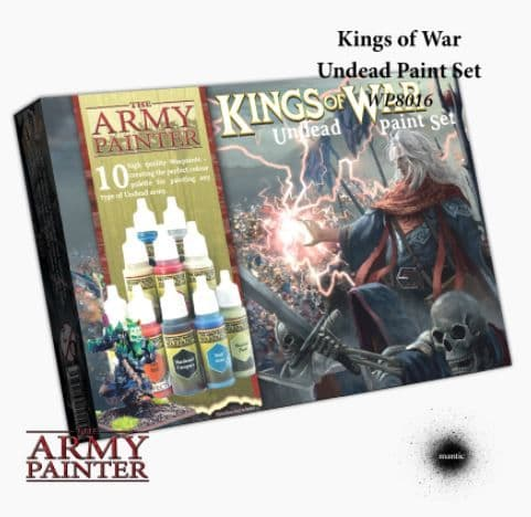 The Army Painter - Kings of War: Undead Acrylic Paint Set # WP8016P
