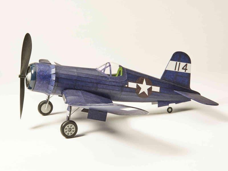 The Vintage Model - Corsair Rubber-Powered Balsa Kit