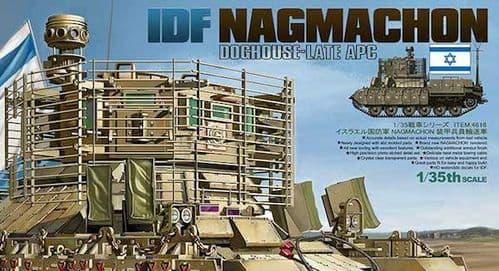 Tiger Model 1/35 IDF Nagmachon Doghouse-Late APC # 4616
