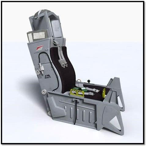 True Details 1/10 Aces II Ejection Seat # P10901