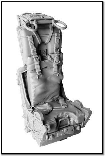 True Details 1/10 Martin-Baker Mk.H7 Ejection Seat # P10902