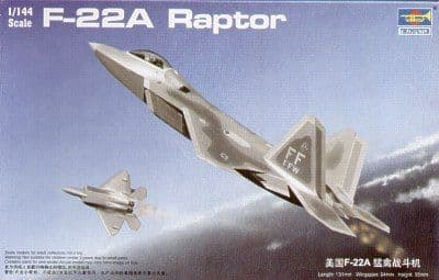 Trumpeter 1/144 F-22A Raptor # 01317