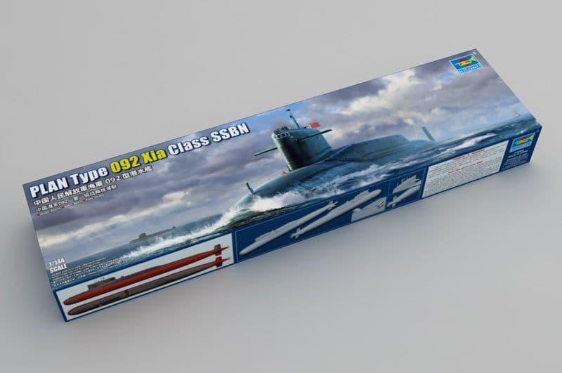 Trumpeter 1/144 PLAN Type 092 Xia Class SSN # 05910