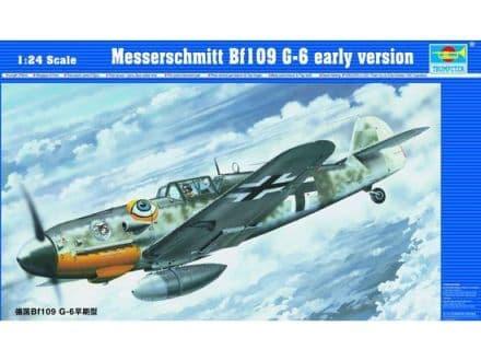Trumpeter 1/24 Messerschmitt Bf109G-6 Early Version # 02407