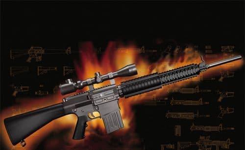 Trumpeter 1/3 AR-15/M16/M4 Family - SR25 # 01913