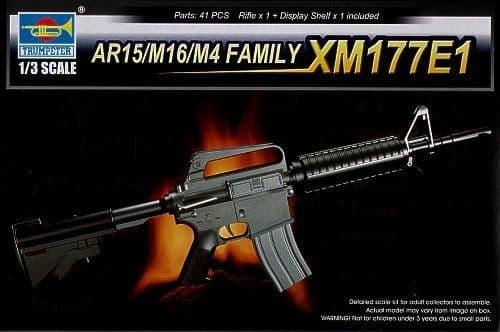 Trumpeter 1/3 XM177E1 Rifle AR15/M16/M4 Family # 01902
