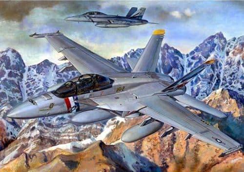 Trumpeter 1/32 Boeing F/A-18F Super Hornet # 03205