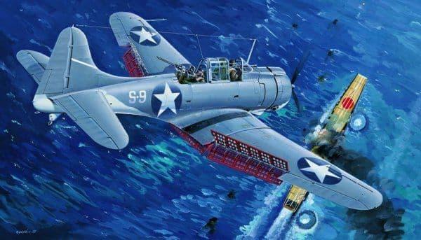 Trumpeter 1/32 Douglas SBD-3 Dauntless U.S. Navy Midway #