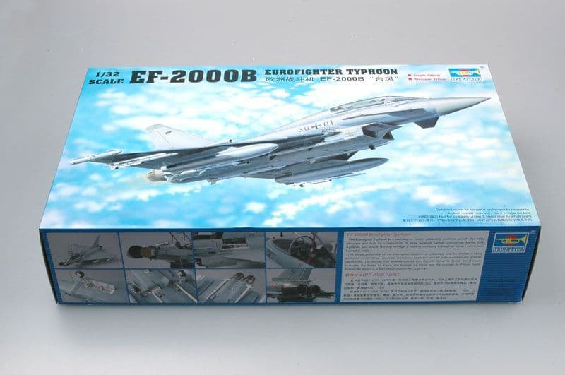 Trumpeter 1/32 Eurofighter EF-2000B Typhoon Twin Seat # 02279