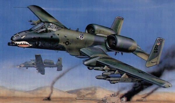 Trumpeter 1/32 Fairchild A-10A Thunderbolt II # 02214
