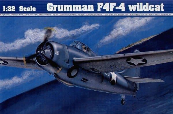 Trumpeter 1/32 Grumman F4F-4 Wildcat # 02223