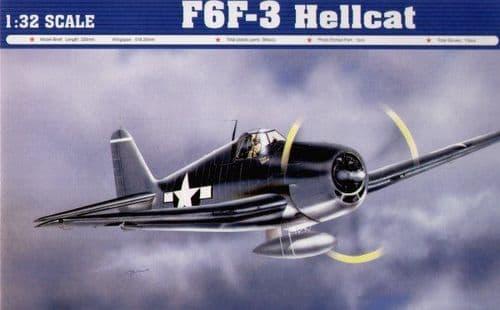 Trumpeter 1/32 Grumman F6F-3 Hellcat # 02256