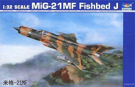 Trumpeter 1/32 Mikoyan MiG-21MF Fishbed J # 02218