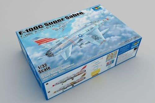Trumpeter 1/32 North-American F-100C Super Sabre # 03221