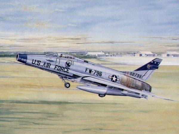 Trumpeter 1/32 North-American F-100D Super Sabre # 02232