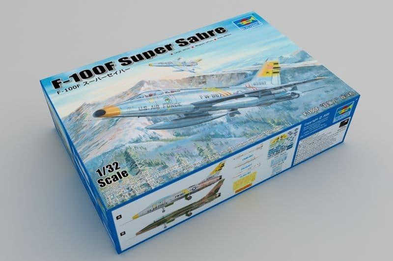 Trumpeter 1/32 North-American F-100F Super Sabre # 02246