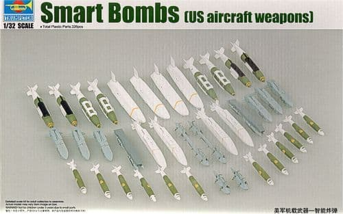 Trumpeter 1/32 US Aircraft Weapons - Smart Bombs # 03305