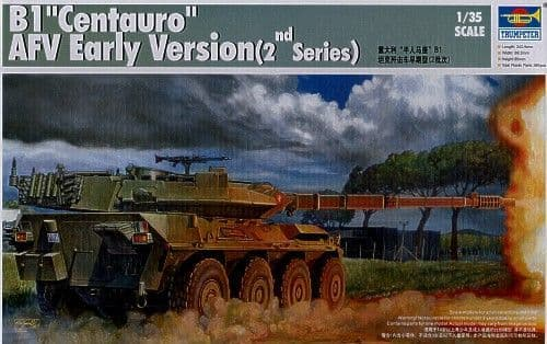 Trumpeter 1/35 B1 Centauro AFV Early version 2nd series # 00386
