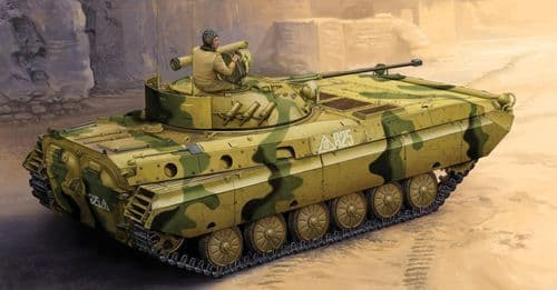 Trumpeter 1/35 BMP-2D Russian IFV Late Production Up-Armour Version # 05585