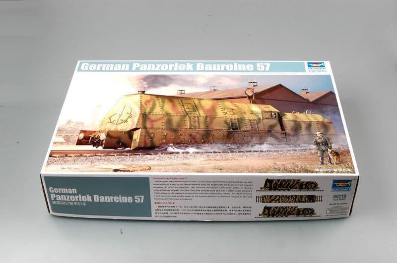 Trumpeter 1/35 German Panzerlock Br-57 Armoured Locomotive # 00219