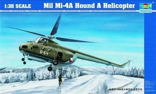 Trumpeter 1/35 Mil Mi-4A Hound A Helicopter # 05101