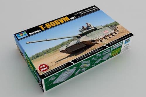 Trumpeter 1/35 Russian T-80BVM MBT # 09587