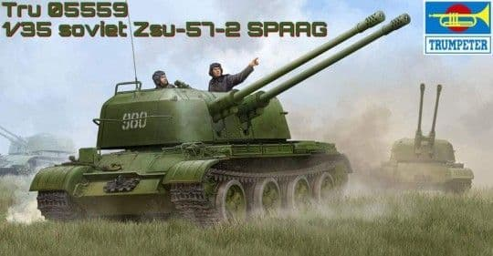 Trumpeter 1/35 Russian ZSU-57-2 SPAAG # 05559