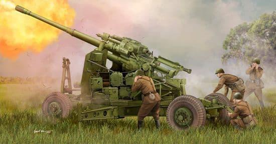 Trumpeter 1/35 Soviet 100mm Air Defense Gun KS-19M2 # 02349