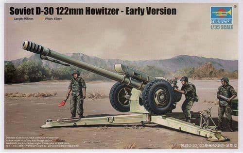 Trumpeter 1/35 Soviet D-30 122mm Howitzer # 02328