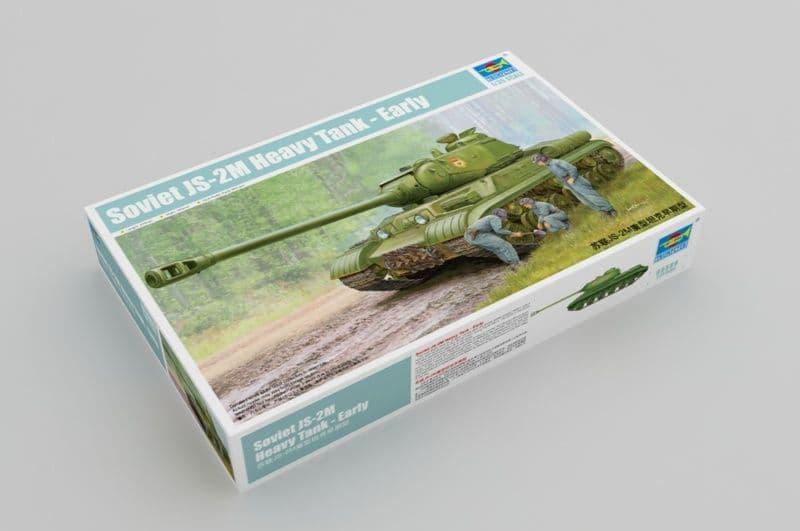 Trumpeter 1/35 Soviet JS-2M Heavy Tank - Early version # 05589
