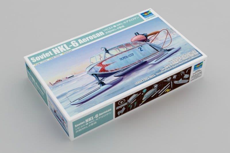 Trumpeter 1/35 Soviet NKL-6 Aerosan # 02355