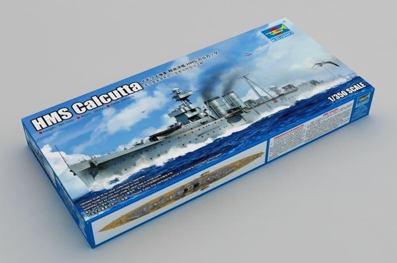 Trumpeter 1/350 HMS Calcutta C-Class Light Cruiser # 05362