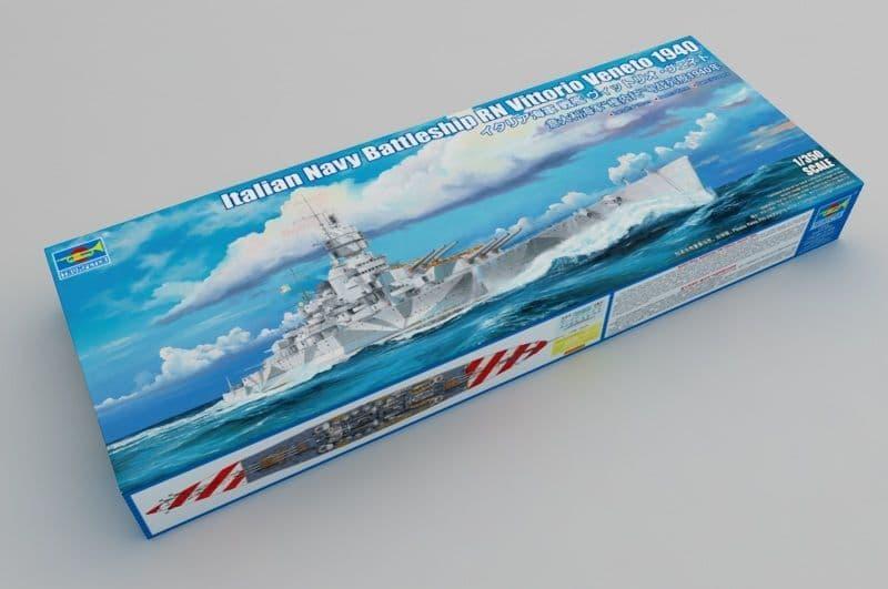 Trumpeter 1/350 Italian battleship RN Vittorio Veneto # 05320
